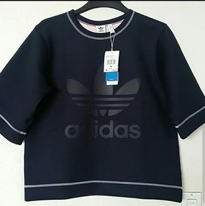 ADIDAS ORIGINAL REVERSIBLE WOMEN SWEATSHIRT SZ S
